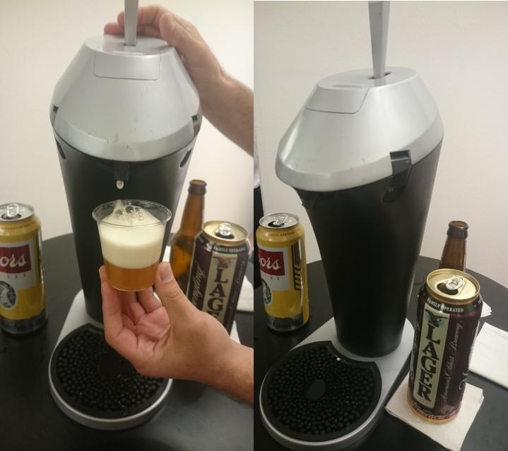 Fizzics Personal Beer Dispenser